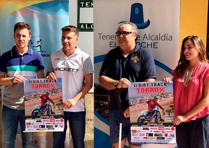 La cita crece este año y se traslada al campo de fútbol de El Morche donde, en un entorno más turístico, prevé congregar a 1.500 asistentes.      Torroxconsolida su apuesta por los deportes de motor, de manera que el próximo sábado, 26 de agosto, acogerá la segunda edición delDirt Track Villa de Torrox, una prueba que se enmarca dentro del Trofeo Andaluz e incorpora como principal novedad el ca   #dirt track #noticias #torrox