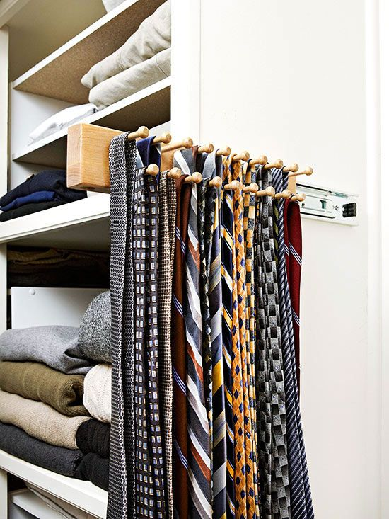 Utilize Specialty Items - tie rack for necklaces?