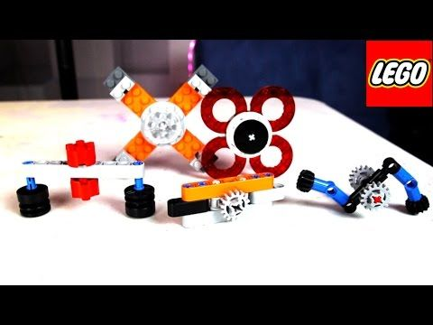 LEGO Spinner Fidget Toy Tutorial! How to Make 5 Different Hand Spinners!