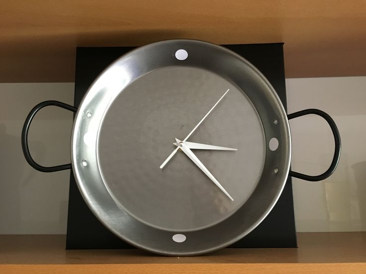 Reloj de cocina paellera