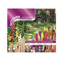 Samentütchen 'Cottage Garden'           bestellen - THE BRITISH SHOP - englisches Gartenzubehör online günstig kaufen