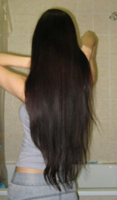Growing my hair down to my hips hopefully:) I want to be the girl with long healthy hair...