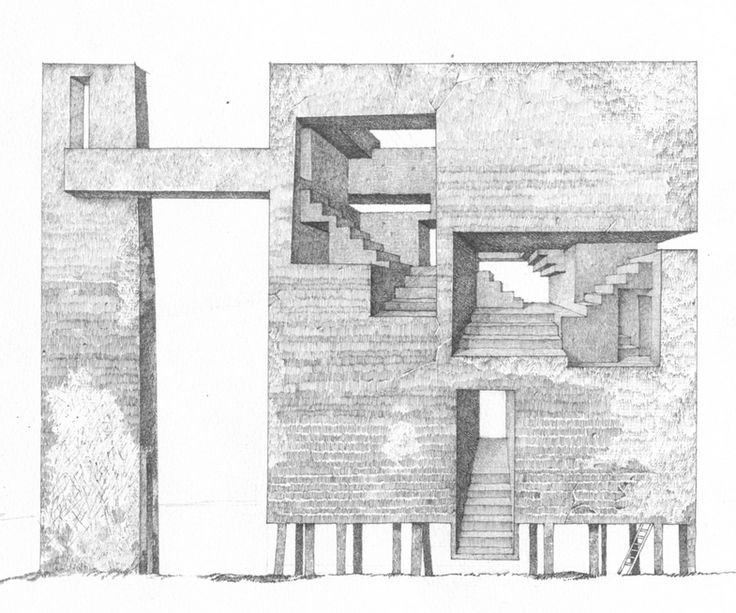Best Architecture Drawings Images On Pinterest Architecture