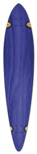 """Blank Longboard Deck PINTAIL 40"""" X 9"""" board W/ Free shipping, Blue. Size: 40"""" X 9"""". With perfeck Shrink Wrap. Free Shipping by UPS. With griptape on top."""