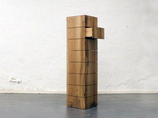 Obscur Stackable Drawers by Johannes Glockner