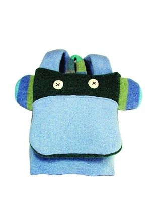 43% OFF Cate & Levi Monkey Back Pack Buddies, Green/Blue