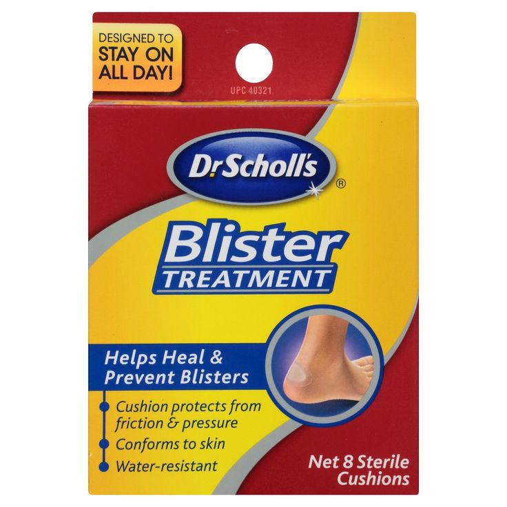 Dr. Scholl's Blister Treatment - 8 Cushions