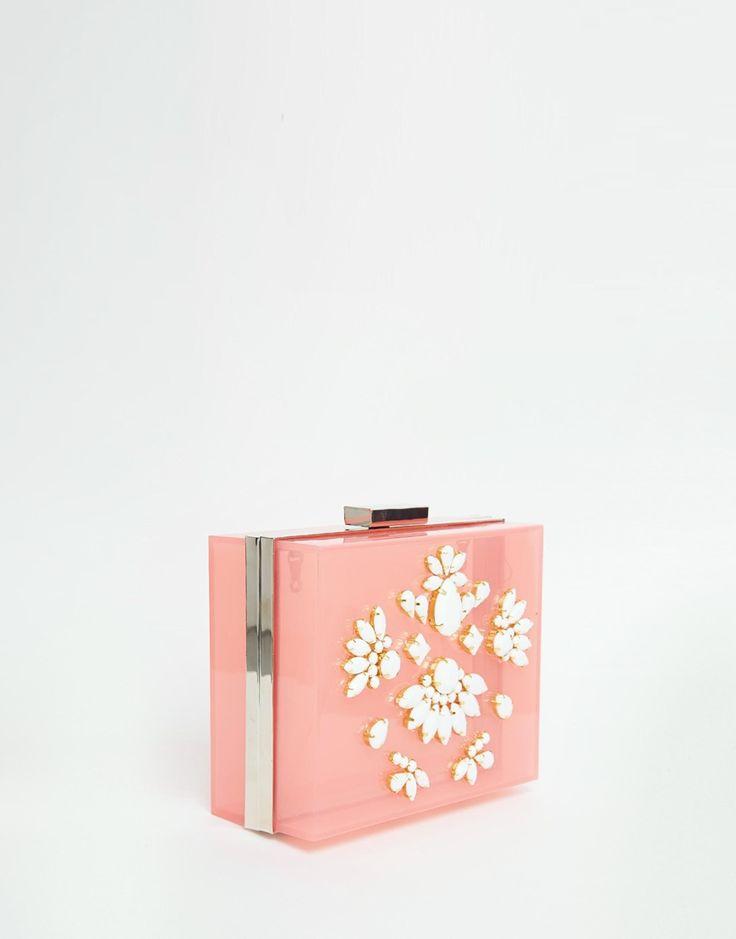 Изображение 2 из Розово‑пастельный клатч‑футляр Skinnydip