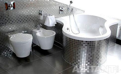 серебряная ванная комната - Поиск в Google