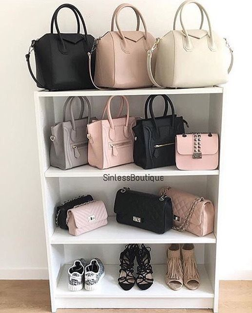 Purse closet organizer pinterest winda 7 furniture - Closet organizer for purses ...