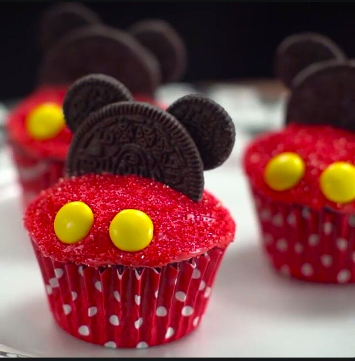 Micky Mouse Cupcakes