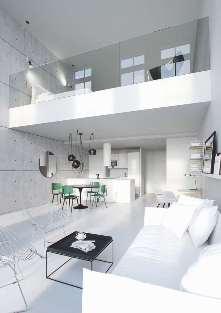 24 best loft en 3d images on pinterest industrial loft for Logiciel salon 3d
