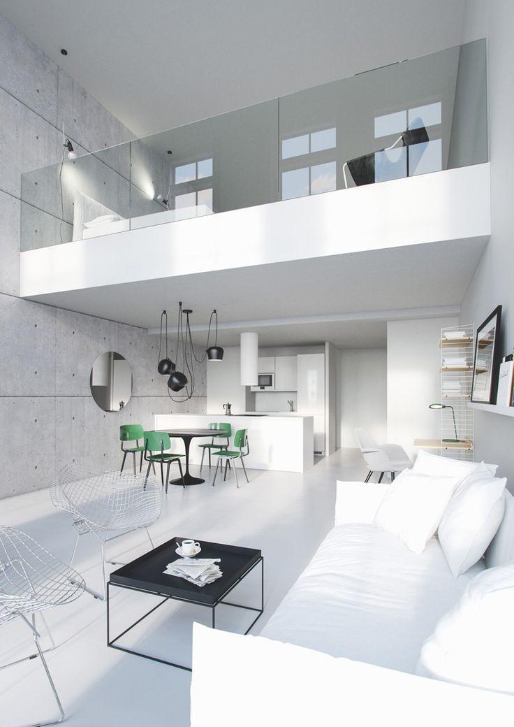 Loft créé avec un logiciel de 3D                                                                                                                                                                                 Plus