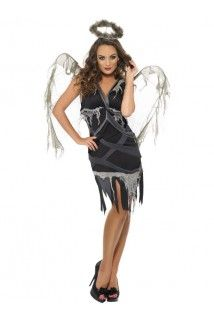 Déguisement ange noir déchu femme