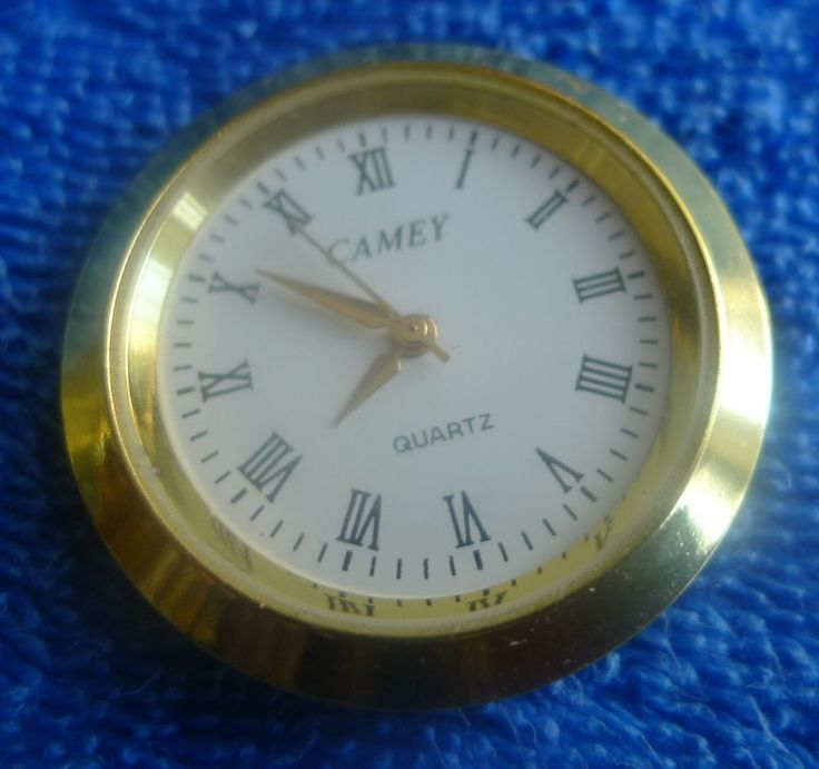CAMEY Quartz watch clock mechanism from the crystal desk clock