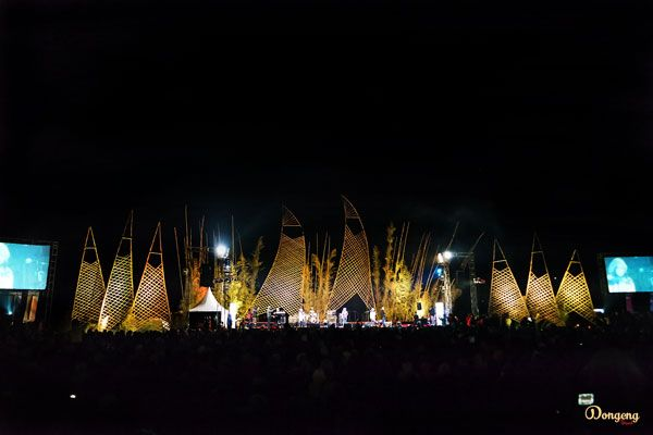 """""""JAZZ ATAS AWAN"""" one of the best music festival in Dieng, Wonosobo.    #music #festival #musicfestival #concert #human #culture #culturefestival #indonesia #dieng #diengculturefestival #diengfestival"""