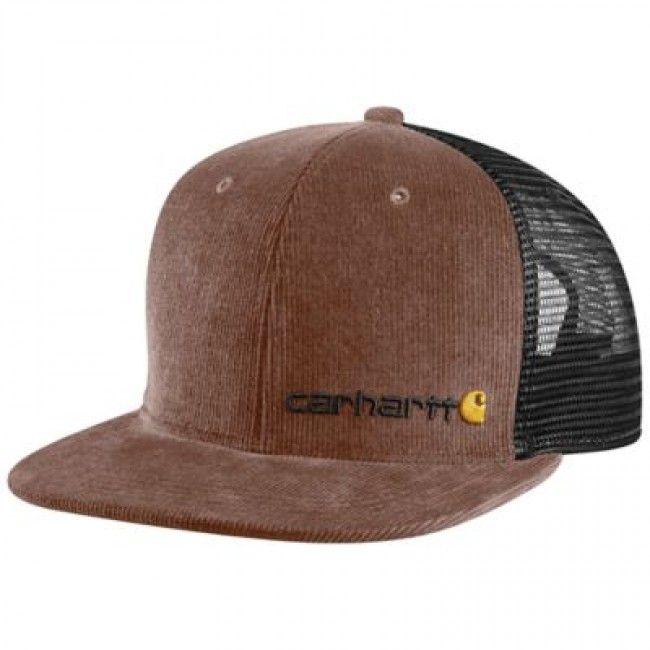 Carhartt Glenwood Cap – Chestnut. #Carhartt logo embroidered on front.
