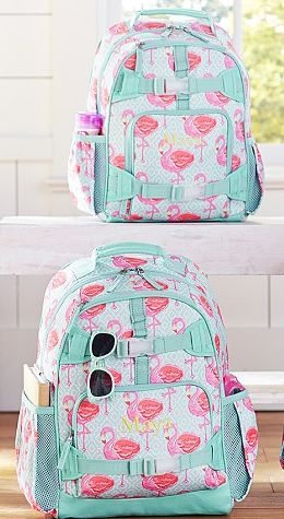 Cute flamingo backpacks http://rstyle.me/n/j3qwhnyg6 Need this for when I go back to school!