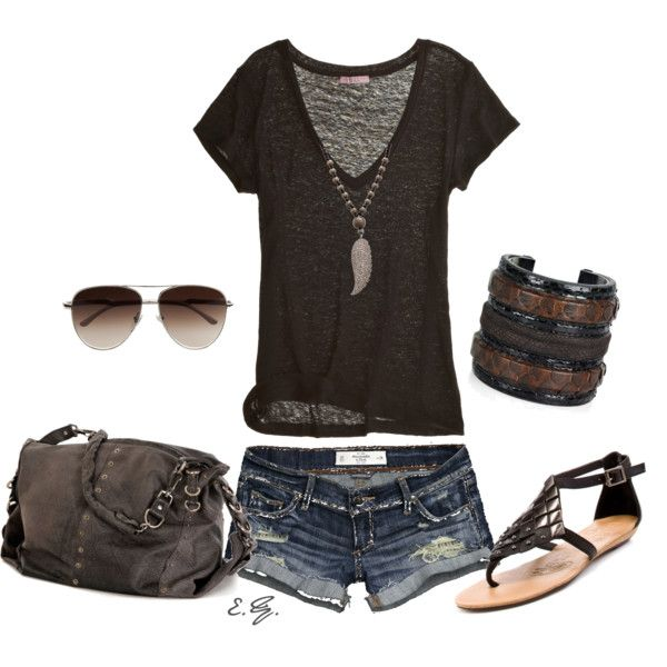 Perfect summer outfit.