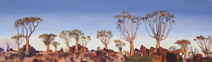 Namibian Forest.