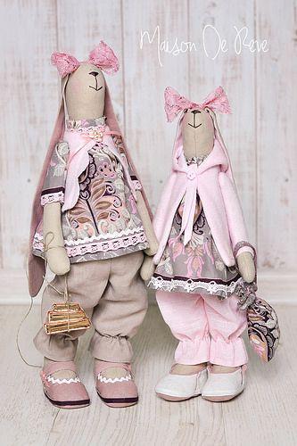 T. Conne rabbits - bunny handmade