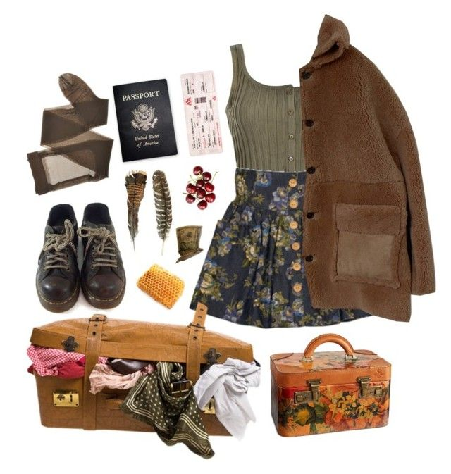 """fly"" by paper-freckles ❤ liked on Polyvore featuring Dr. Martens, Ally Fashion, Patricia Nash and Passport"
