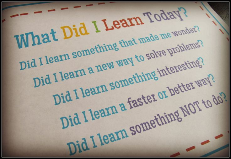 """What Did I Learn Today?"" We want our students to make a habit of asking themselves this question. It seems obvious, but sometimes we need to remind them that, yes, we do expect them to learn something new each and every day! This learning log will help students keep that goal in mind, while they build the important habit of daily reflection. $"