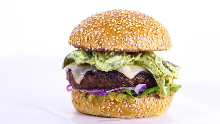 Multi-layered Mexi-burgers
