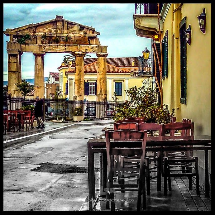 Photo Mania Greece: Η πύλη της Αθηνάς της Αρχηγέτιδας / The Gate of At...