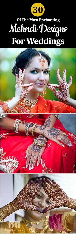 30 Most Enchanting Mehndi Designs For Wedding Adornment