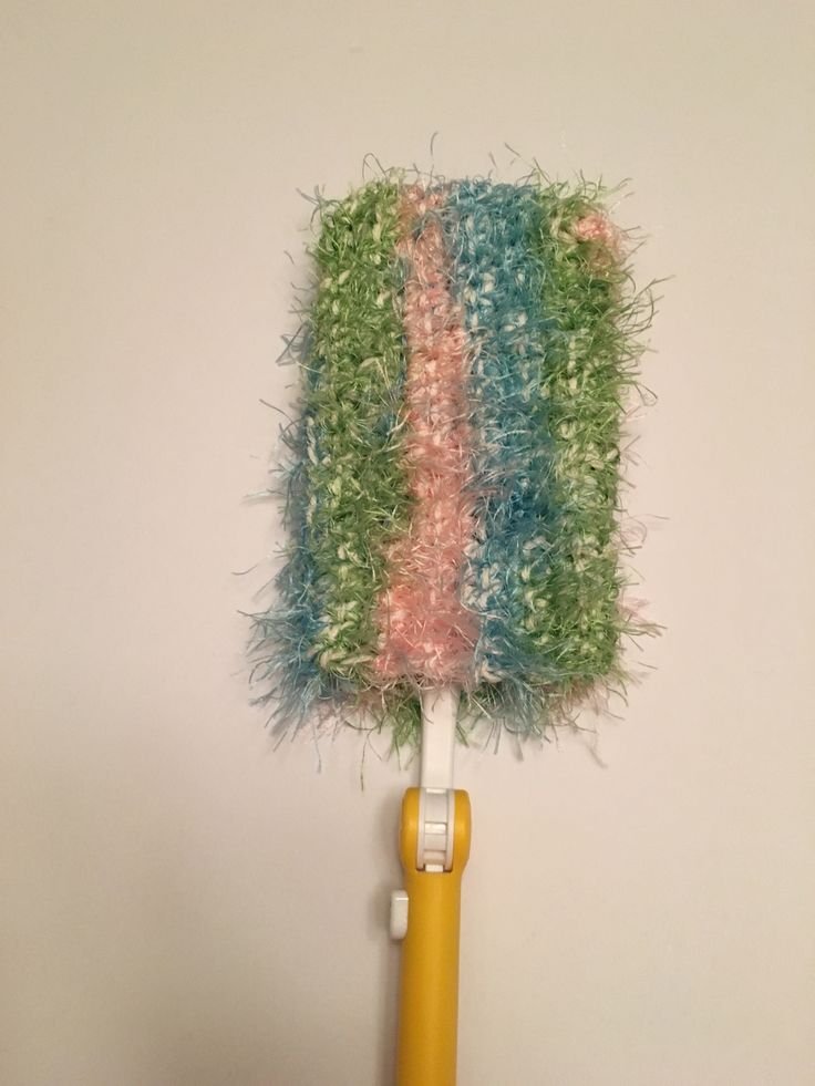 Spring Cleaning Duster Cover - A free pattern for you!