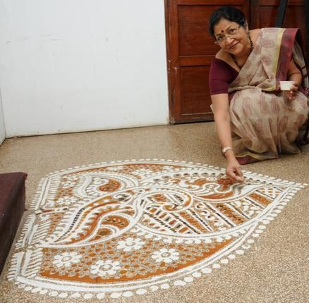 Floored by an art tradition