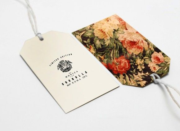 Save cardboard hang tags from clothing purchases and cover with fabric or patterned paper for gift tags.