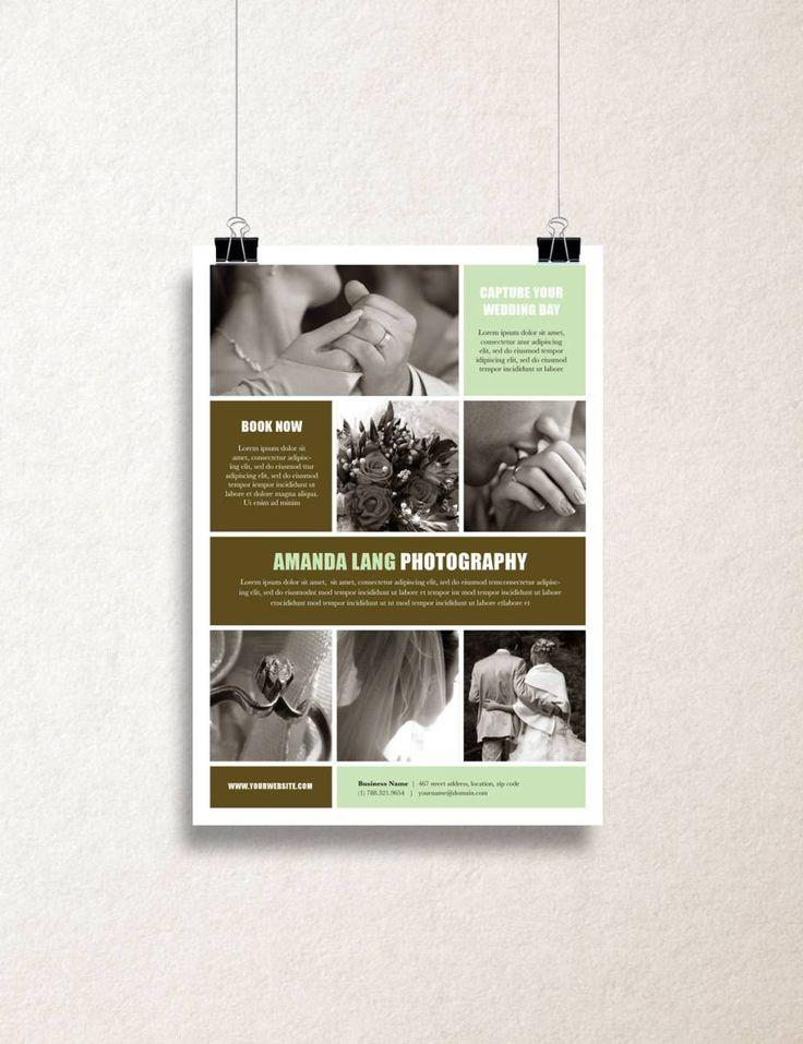 """Single Page Brochure Template - """"Latitude"""""""