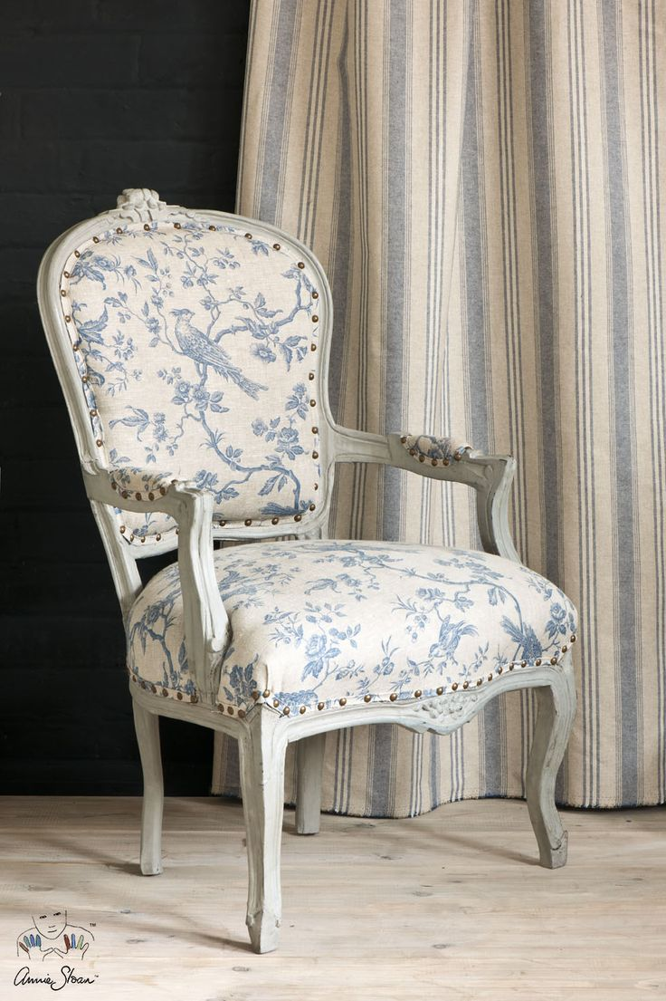 11 best annie sloan fabric collection images on pinterest annie peking is a beautiful chinese inspired floral fabric in the annie sloan fabric collection the pattern incorporates regal birds in deep blue gumiabroncs Image collections
