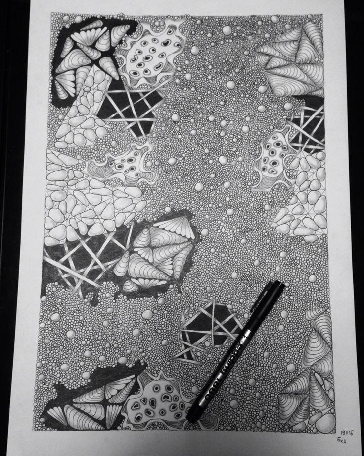 My art, Zentangl , a3