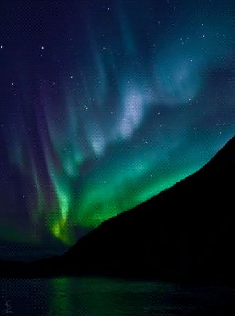 ***GIF***Northern lights