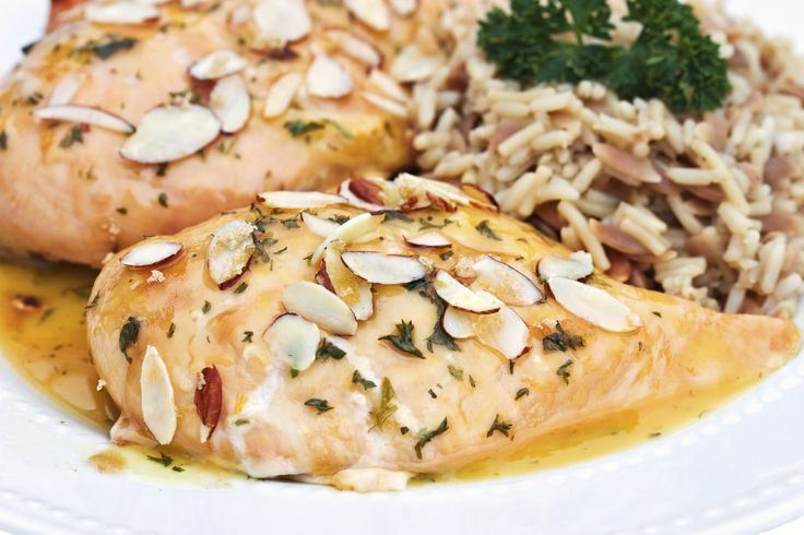 Try this homemade almond crusted chicken delight recipe tonight for a delicious twist on an old favorite.