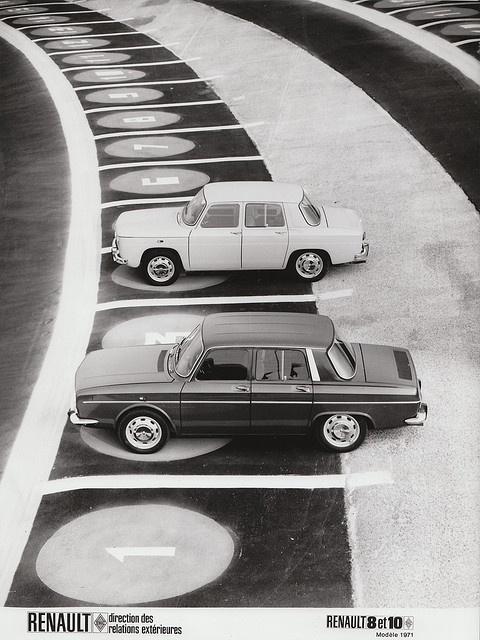1971 Renault 8 & 10 ✏✏✏✏✏✏✏✏✏✏✏✏✏✏✏✏ IDEE CADEAU / CUTE GIFT IDEA  ☞ http://gabyfeeriefr.tumblr.com/archive ✏✏✏✏✏✏✏✏✏✏✏✏✏✏✏✏