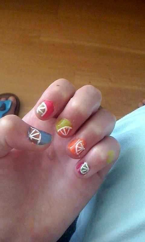 Citroen op je nagels maken pff heel simpel