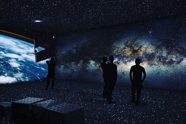Above and beyond space exhibition is open in Moscow
