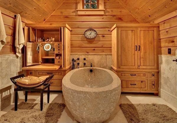 Contemporary Master Bathroom - Find more amazing designs on Zillow Digs! I like the tub...but not much else.