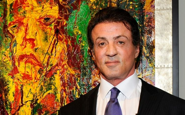 2015 - Sylvester Stallone: not your average Hollywood painter  He gave the world Rocky and Rambo, now Sylvester Stallone is revealing his expressionist side in an exhibition of his paintings, says Andrew Pettie