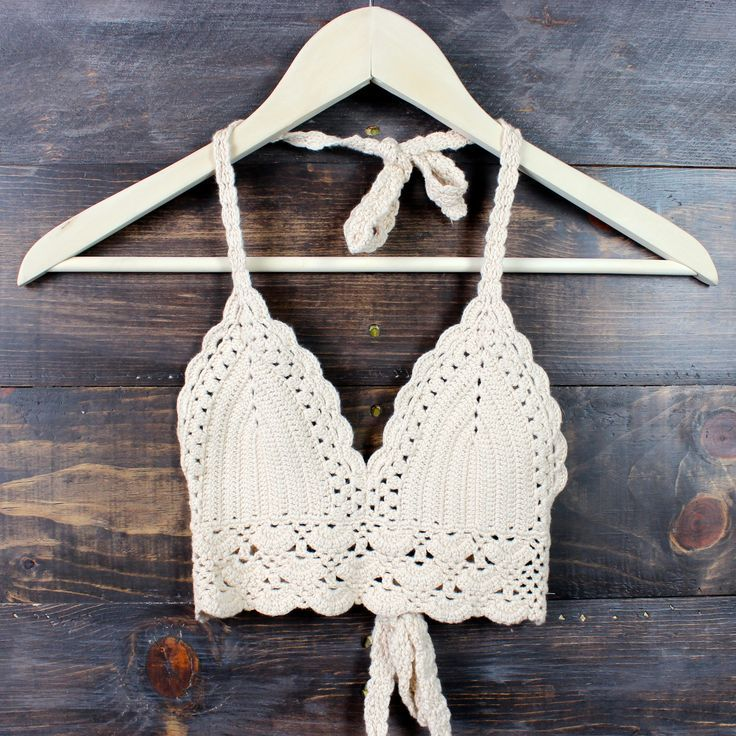 boho festival crochet crop top - nude cropped top gypsy hippie summer spring fashion: