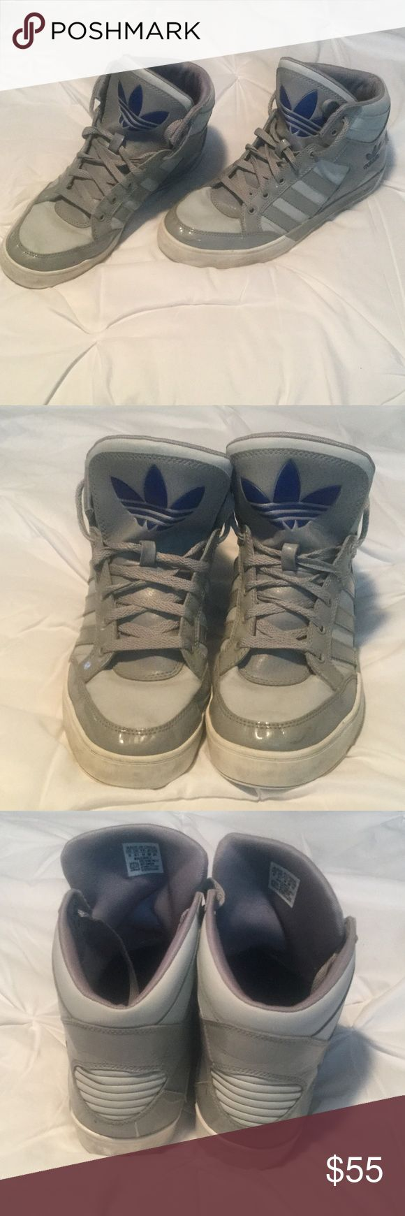 Adidas Basketball Shoes Size 10 Adidas  Men's Basketball Shoes Size 10 no box please see pictures to tell use. Adidas Shoes Sneakers