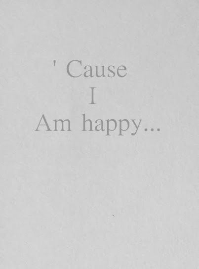 Cause I am Happy ★ iPhone wallpaper