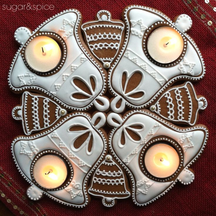 Gingerbread advent wreath…