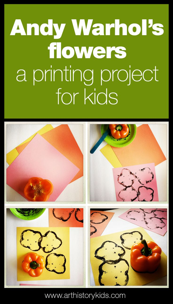 Andy Warhol Art Project for Kids | Elementary Art Lesson Plans