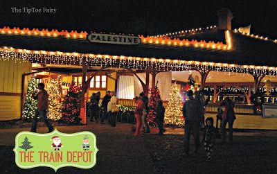Texas State Railroad: The Polar Express - The TipToe Fairy