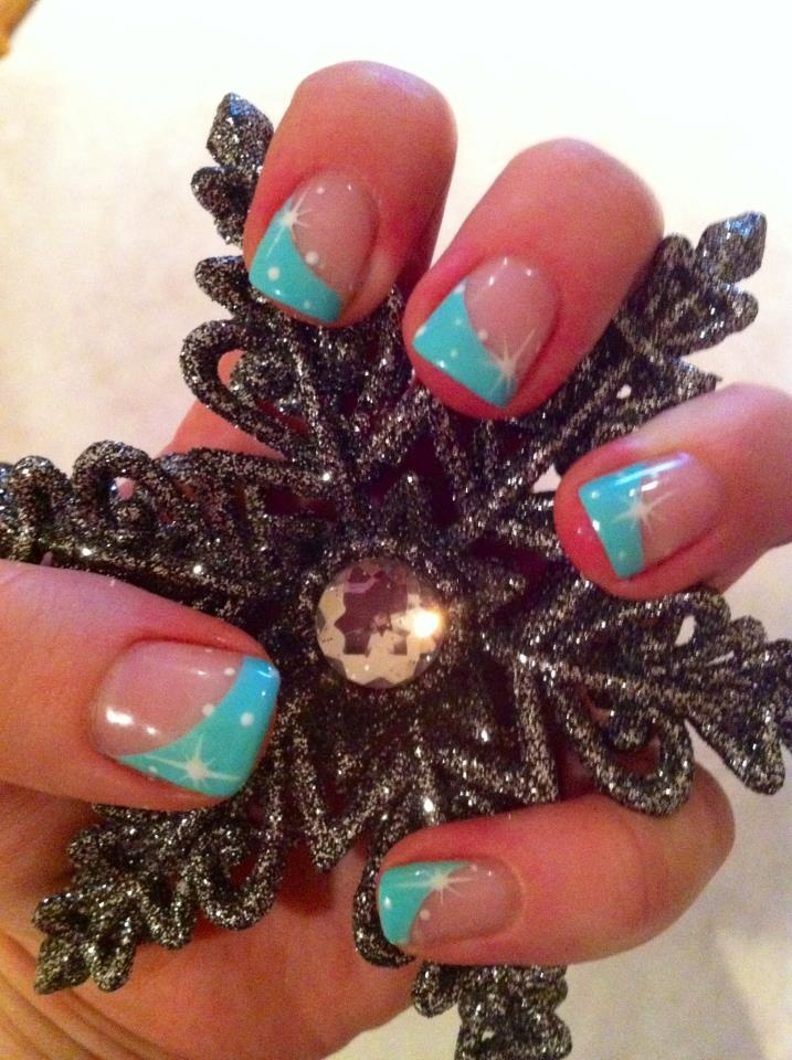 Bio Sculpture Holiday Nail Art   By Elise Harding